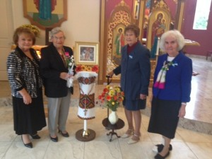 Rosary Society Officers and new nember